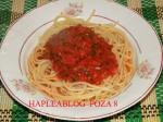 Articole culinare : SPAGHETE CU ROȘII PROASPETE (SPAGHETTI AL POMODORO FRESCO)