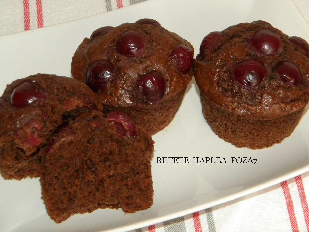 muffins cu visine poza 7